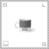 PANTONE パントン エスプレッソカップ クールグレー 120ml Φ62/W86/H61.5mm デミタスカップ