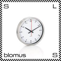 blomus ブロムス ERA ウォールクロック ホワイト Φ24cm シンプルクロック 壁掛け時計 blomus-63209