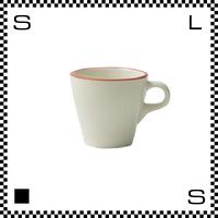 Prato プラート カプチーノカップ 6oz ビアンコ ホワイト Φ83/W106/H76mm 180cc コーヒーカップ テラコッタイメージ 日本製