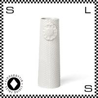 dottir ドティエ pipanella ピパネラ フラワーベース ドット Sサイズ ホワイト W5/H15.5cm 花瓶 陶器製 デンマーク製