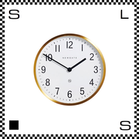 NEW GATE マスターエドワーズ ブラス 直径30cm ウォールクロック 壁掛け時計 ニューゲート アートワークスタジオ
