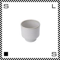 笠間焼 鈴木まるみ フリーカップ 糠白 Φ8.8/H8.1cm(高台径:5.7cm) ハンドメイド 湯呑み 湯のみ カップ 日本製