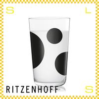 RITZENHOFF リッツェンホフ ミルクグラス 250ml スリーサークル フカサワ・ナオト Φ77/H128mm タンブラー ホルスタイン ギフト  ritz-3500004