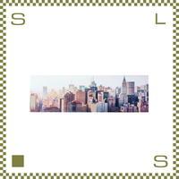 アートパネル ニューヨーク W140/D2.5/H45cm ワイドタイプ キャンバス azu-art122d