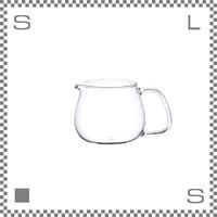 キントー UNITEA ジャグ Sサイズ 耐熱ガラス製