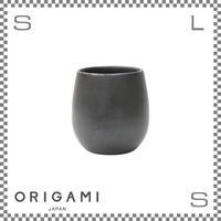 ORIGAMI オリガミ BARREL フレーバーカップ マットブラック Φ76/H78mm 210cc コーヒーカップ ハンドルレス アロマが愉しめる 日本製