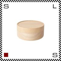 山中漆器 木の小物入れ SOJI ソジ Sサイズ ナチュラル Φ110/H60mm 小物入れ ハンドメイド 日本製