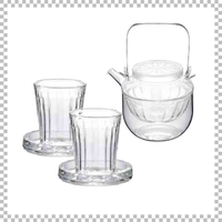SNOWTOP SAKE series スノウトップ 酒器&クーラー&グラス×2個 酒器セット