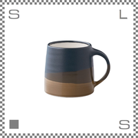 キントー SCS-S03 スローコーヒースタイル マグ 320ml ブラック ブラウン マグカップ ハンドペイント風