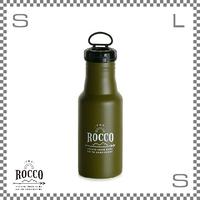 ROCCO ロッコ ワンタッチボトル 500ml グリーン Φ73/H213mm ステンレスボトル 魔法瓶 水筒