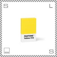 PANTONE パントン 消しゴム イエロー W65/D40/H15mm けしごむ イレーザー デンマーク