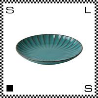 風雅 ふうが 丸皿 14.5cm あさぎ ターコイズ Φ145/H23mm 小皿 ラウンドプレート レトロカラー 日本製