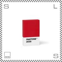 PANTONE パントン 消しゴム レッド W65/D40/H15mm けしごむ イレーザー デンマーク