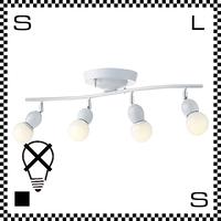 アートワークスタジオ Annabell アナベルリモートシーリングライト ポップカラー 4灯 ホワイト 電球なし W825/H150mm リモコン付  AW-0323Z-WH