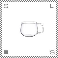 キントー UNITEA カップ Sサイズ 350ml 耐熱ガラス製