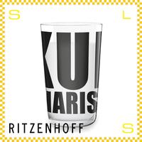 RITZENHOFF リッツェンホフ ミルクグラス 250ml アルファベット ジャスティス・オ・ヒラー Φ77/H128mm タンブラー ペンタグラム ギフト  ritz-3500008