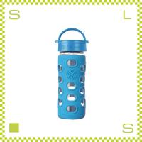 LIFEFACTORY ライフファクトリー グラスボトル クラシックキャップ 350 オーシャン 350ml 携帯ボトル ガラスボトル