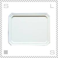 SAKUZAN サクザン SARA サラ スクエアプレート Lサイズ クリーム W280/D220/H18mm パステルカラー 日本製