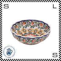 Ceramika Artystyczna ツェラミカ アルティスティチナ No.858 ボウル Φ11.8/H4.2cm ストーンウェア オーブン可 ハンドメイド ポーランド製