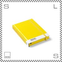 PANTONE パントン ノートブック Sサイズ イエロー W170/D120/H22mm ストッパーゴム付き ダイアリー 日記帳 デンマーク