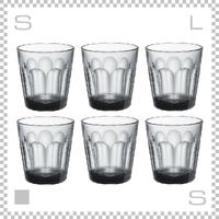 Common コモン タンブラー グレー 6個セット Φ78/H82cm 200ml グラス