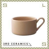 3RD CERAMICS サードセラミクス スープマグ ベージュ 280cc Φ100/W131/H64mm スープカップ 日本製