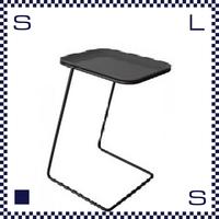 CAMBRO キャンブロ サイドテーブル スクエア フレーム:ブラック/シルバー ブラック:天板 W360/H510/H280mm アメリカ製