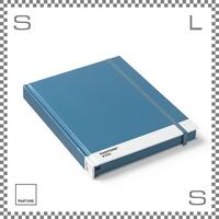 PANTONE パントン ノートブック Lサイズ ブルー W220/D170/H22mm ストッパーゴム付き ダイアリー 日記帳 デンマーク