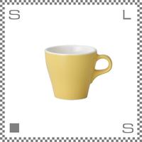 ORIGAMI オリガミ カプチーノカップ イエロー 6oz 180cc コーヒーカップ バリスタが設計 日本製
