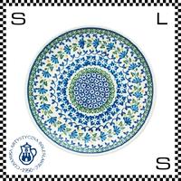 Ceramika Artystyczna ツェラミカ アルティスティチナ No.883 プレート 24cm Φ24/H3cm ストーンウェア オーブン可 ハンドメイド ポーランド製