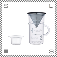 キントー SCS-02-CJ-ST スローコーヒースタイル コーヒージャグセット 600ml ステンレスフィルター