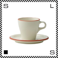 Prato プラート カプチーノカップ&ソーサー 6oz ビアンコ ホワイト Φ83/W106/H76mm 180cc コーヒーカップ テラコッタイメージ 日本製