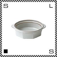 Coline コリーヌ グラタン皿 ネージュ ホワイト Φ142/W171/H46mm オクタゴン 八角形 クラシックデザイン 日本製