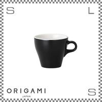 ORIGAMI オリガミ エスプレッソカップ ブラック 3oz 90cc デミタスカップ バリスタが設計 日本製