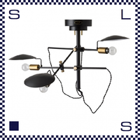 HERMOSA ハモサ POLDER 3 ポルダー3 ペンダントライト 3灯ランプ 電球位置調節可 インダストリアル