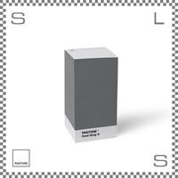PANTONE パントン ノートパッド グレー W75/D75/H146mm ブロックメモ メモ用紙 デンマーク