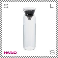 HARIO ハリオ フィルターインピッチャー ブラック 900ml W91/D80/H265mm フィルター付き ピッチャー ウォーターボトル fip-90-b