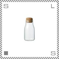 KINTO キントー BOTTLIT ボトリット キャニスター 150ml ボトル型保存容器 コルク栓