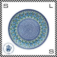 Ceramika Artystyczna ツェラミカ アルティスティチナ No.835 プレート 24cm Φ24/H3cm ストーンウェア オーブン可 ハンドメイド ポーランド製