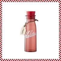 Kalita カリタ コーヒーストレージボトル レッド W62/D62/H201mm 300ml 保存ボトル 保存容器
