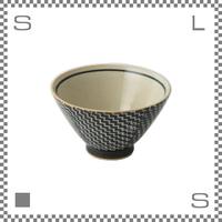 aiyu アイユー ORIME オリメ シャークスキン柄 茶碗 ブラウン Φ11/H6.5cm ライスボウル 波佐見焼 日本製