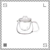 キントー UNITEA ティーポットセット ガラス Sサイズ 500ml