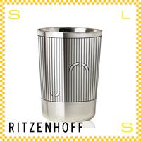 RITZENHOFF リッツェンホフ ジントニックグラス 250ml ストライプ ポーリーン・デルトゥール Φ83/H115mm タンブラー 幾何学模様 ギフト  ritz-3530001