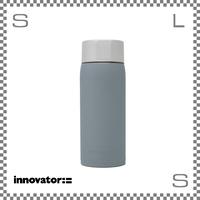 Innovator イノベーター ステンレスボトル 370ml ブルーグレー Φ63/H173mm 携帯ボトル 魔法瓶 水筒