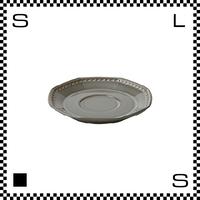 Coline コリーヌ ソーサー エタン グレー W158/D155/H23mm オクタゴン 八角形 クラシックデザイン 日本製