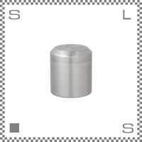 キントー リーブストゥーティー キャニスター 450ml ステンレス製 茶筒 保存容器