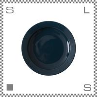 aiyu アイユー motte モッテ プレート Lサイズ ブルー Φ22.6/H3.8cm リムあり ボウル 波佐見焼 日本製