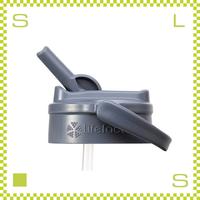 LIFEFACTORY ライフファクトリー グラスボトルキャップ ストロー付き ストロー付きボトルキャップ 携帯ボトル