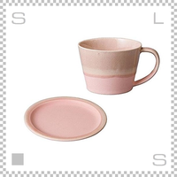 SAKUZAN サクザン COLOR カラー カップ&ソーサー ピンク パステルカラー 日本製