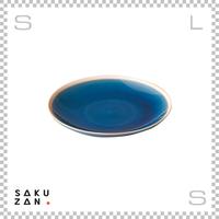 SAKUZAN サクザン GLOSS グロス 丸皿 Mサイズ インディゴ Φ200/H30mm 中皿 日本製